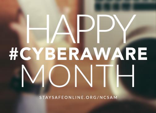 HappyCyberAwareMonth