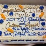 Celebration Cake: FIS Ranks 1st in Higher Education