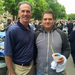 Steve Koch with Jamie Dixon
