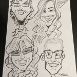 FIS Customer Support Caricatures: Faculty and Staff Picnic