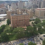 View from FIS on the 19th Floor of the Cathedral: Faculty and Staff Picnic